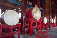Chinese drums Stock Photography
