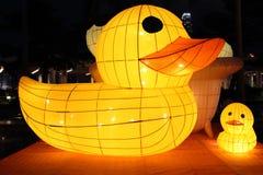 Chinese duck lanterns Stock Photo
