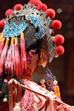 Chinese dummy opera, looking after the stage Stock Photos