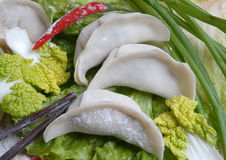 Chinese Dumpling. Dumpling is a traditional Chinese food Stock Image