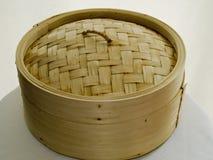 Chinese dumpling basket Royalty Free Stock Images