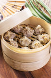 Chinese Dumpling with Filling Royalty Free Stock Images