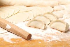 Chinese Dumpling. Preparing for making Chinese Dumpling Royalty Free Stock Photos