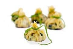 Chinese dumplings Royalty Free Stock Photo