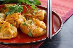 Chinese dumplings - dim sum Royalty Free Stock Photo