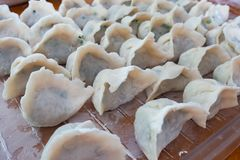 Chinese dumplings home made royalty free stock photos