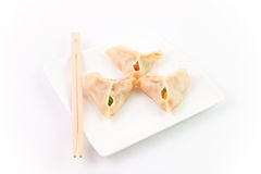 Chinese dumplings Stock Photos