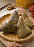 Chinese dumplings, zongzi usually taken during festival Royalty Free Stock Image
