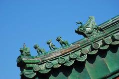 Chinese eave van de bouw Royalty-vrije Stock Fotografie
