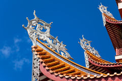 Chinese eaves Stock Images