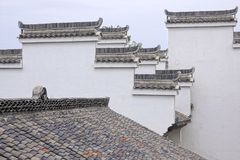 Chinese eaves stock afbeelding