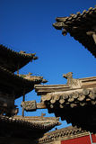 Chinese eaves Royalty Free Stock Images