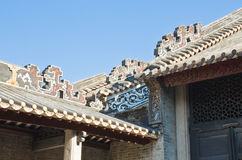 Chinese eaves. royalty free stock images