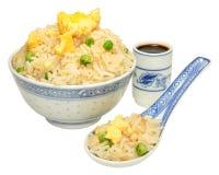 Chinese Egg Fried Rice Stock Image