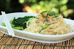 Chinese Egg Noodle Royalty Free Stock Photography