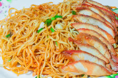 Chinese Egg Noodles Royalty Free Stock Image