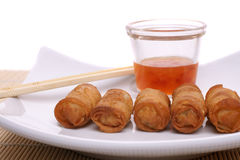Chinese egg roll Royalty Free Stock Images