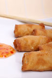 Chinese egg roll Stock Photos