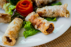 Chinese egg rolls Stock Photography