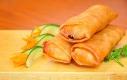 Chinese eggrolls. Stock Photos