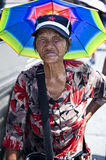 Chinese elderly woman Royalty Free Stock Photos