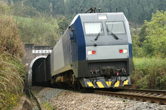 Chinese electric train Stock Photo