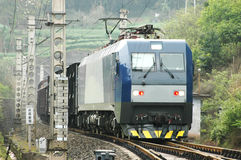 Chinese electric train Stock Image