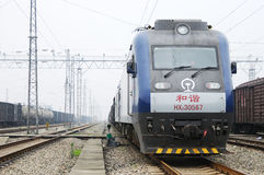 Chinese electric train Stock Photography