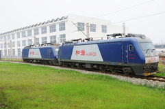 Chinese electric train Royalty Free Stock Photo