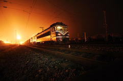 Chinese electric train,shaoshan 1241 stock photo