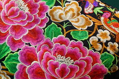 Chinese Embroidery Craft Royalty Free Stock Image