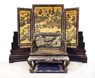 Chinese empire's seat Royalty Free Stock Photography