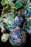 Chinese enamel handycraft Stock Photos
