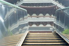 Chinese escalator Royalty Free Stock Photography