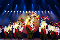 Chinese ethnic dance of Yi nationality Stock Photography