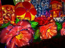 Chinese. Ew year lanterns, guangzhou yuexiu 2019 stock photos