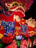 Chinese. Ew year lanterns, guangzhou yuexiu 2019 royalty free stock photo