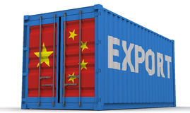 Chinese exports Royalty Free Stock Photography