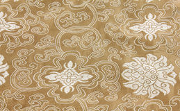 Chinese Fabric Royalty Free Stock Photography