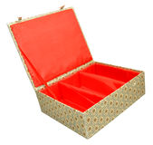 Chinese Fabric Covered Box Stock Images