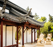Chinese Facade Royalty Free Stock Images