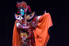Chinese Face-changing performances. Spring Festival 2013 Stock Image