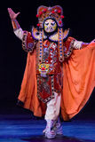 Chinese Face-changing performances. Spring Festival 2013 Stock Photography
