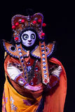 Chinese Face-changing performances. Spring Festival 2013 Stock Photos