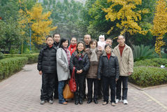 Chinese family Royalty Free Stock Photography