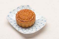 Chinese famous food--Moon cake Royalty Free Stock Photography