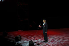 Chinese famous tenor Cheng Zhi-theFamous and classicconcert Royalty Free Stock Photos