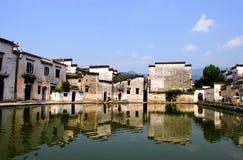 Chinese Famous Village, Hongcun Stock Photo