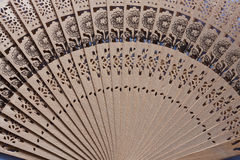 Chinese fan. Close up of chinese fan image Royalty Free Stock Image