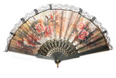 Chinese fan Stock Photography